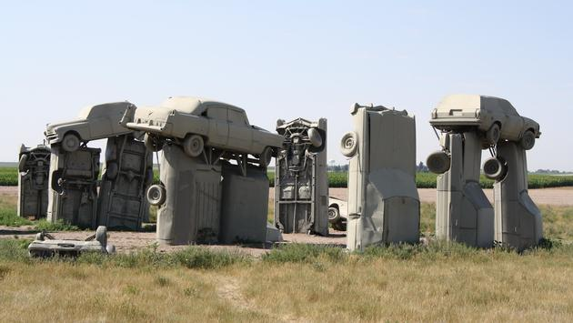 Carhenge in Alliance, Nebraska