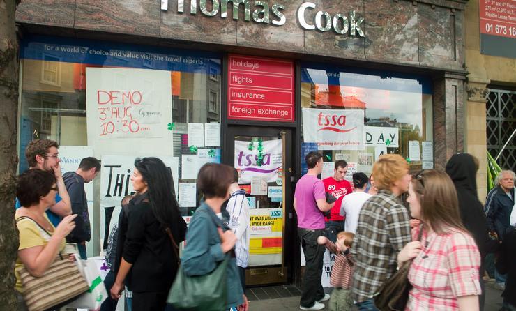 Thomas, Cook, shop