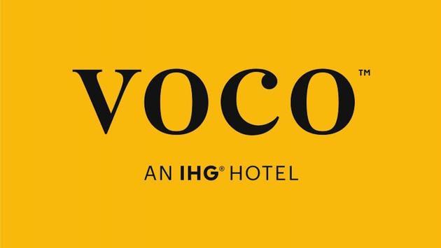IHG'S voco hotel brand logo.