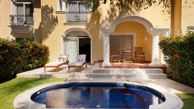 Une suite au Casa Velas avec piscine privée
