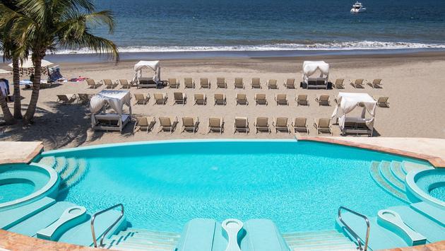Le Beach Club du Casa Velas