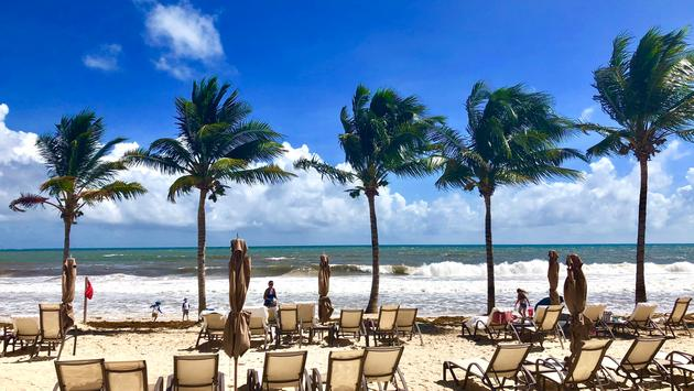 Nestled in a private enclave between the hustle and bustle of touristy Cancun and the lively authenticity of historic Playa del Carmen, Grand Residences Riviera Cancun is exactly what a carefree vacation is all about. (Photo by Noreen Kompanik)