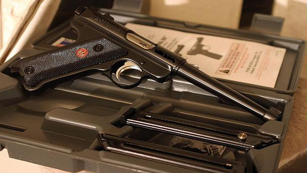 Ruger Mk III handgun