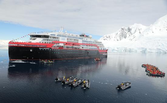 Cruise Ship Naming in Antarctica