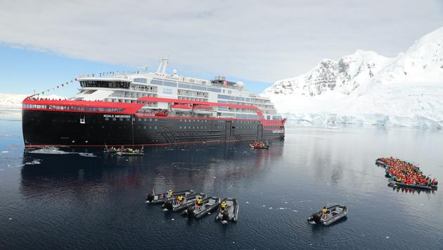 Cruise Ship Naming in Antarctica