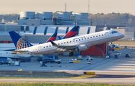 United Express Mesa Airlines Embraer 175 airplane Atlanta airport