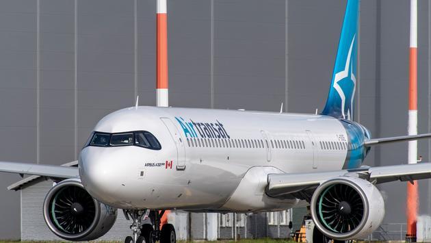 Le nouveau Airbus A321neoLR de Transat