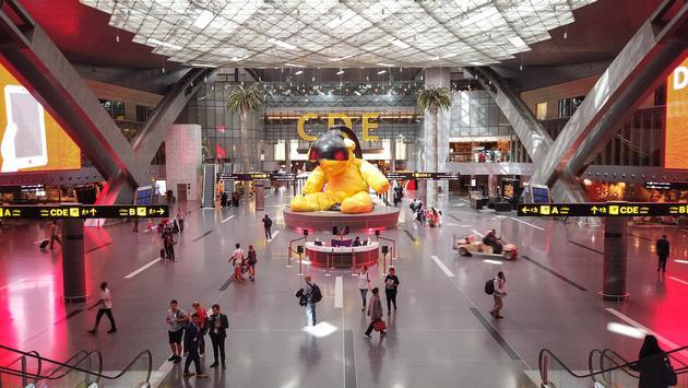 Aeroporto Internacional Hamad em Doha, Catar
