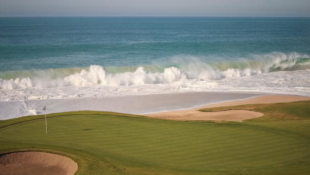 Golf course in Los Cabos, Mexico