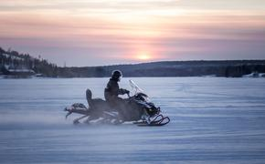 battery-powered snowmobile