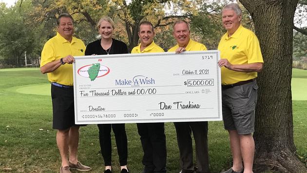 donation to Make-A-Wish
