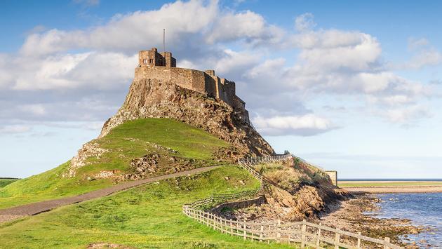 Lindisfarne Castle Northumberland UK