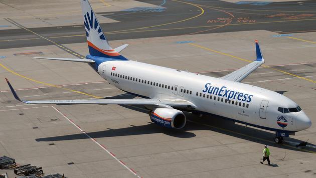 SunExpress, plane, travel