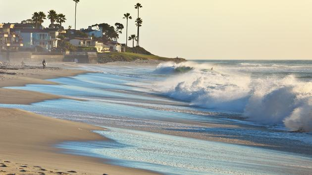 Beach in San Diego, California