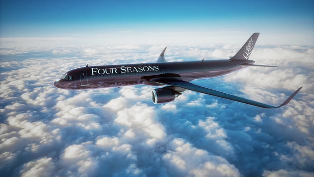 Four Seasons dévoile son nouveau jet privé