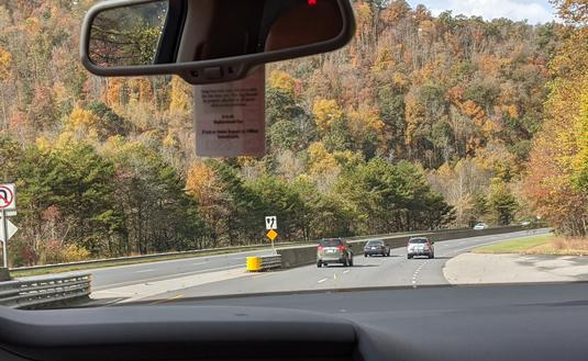 Road trip in Great Smoky Mountains