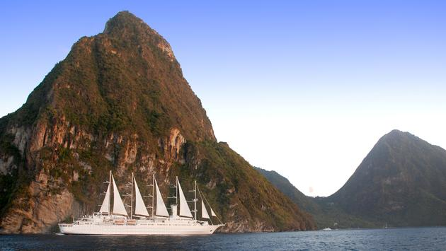 Wind Surf, Windstar cruises, St. Lucia, tropics, destinations