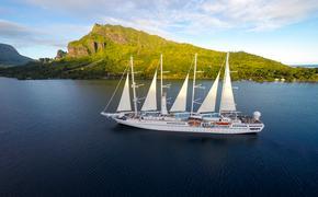 Wind Spirit, Windstar cruises, Moorea, Tahiti, tropics, destinations