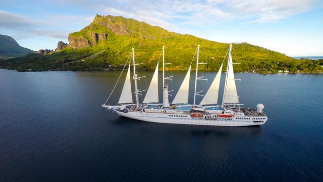 Wind Spirit, Windstar cruises, Moorea, Tahiti, tropics, destinations