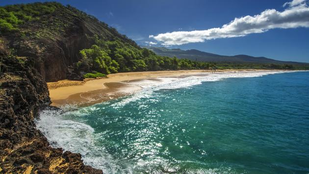 Big Beach, or Oneloa, south Maui, Hawaii, USA