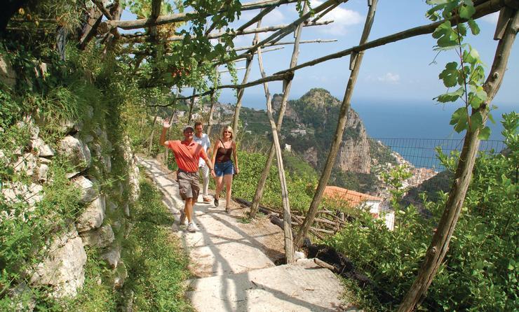 walking on the Path of the Gods on Italy's Amafli Coast