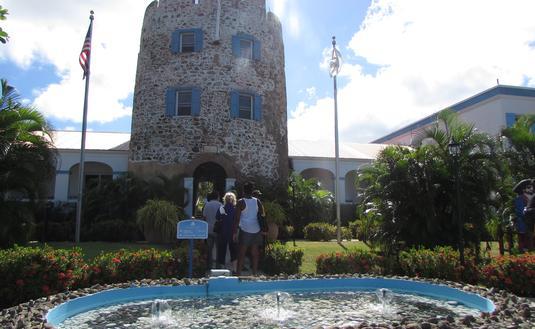 Bluebeard Castle hotel in St. Thomas U.S. Virgin Islands.