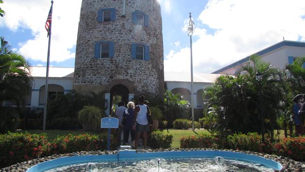 Bluebeard Castle hotel in St. Thomas U.S. Virgin Islands.