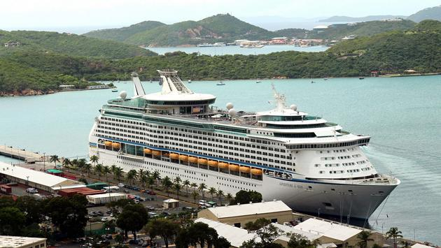 Royal Caribbean International's Adventure of the Seas. The ship will be the first to return to St. Thomas following Hurricanes Irma and Maria.