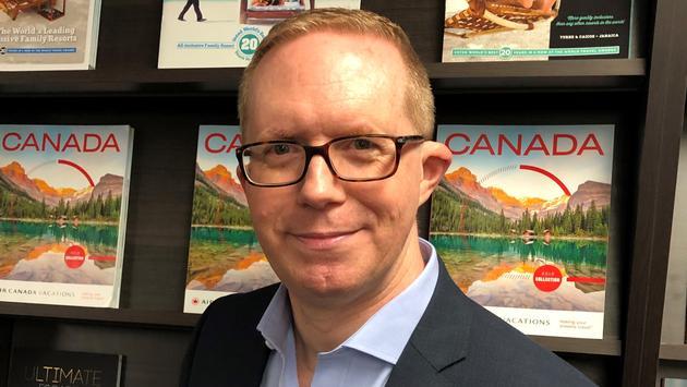 Robert Reed, Air Canada Vacations