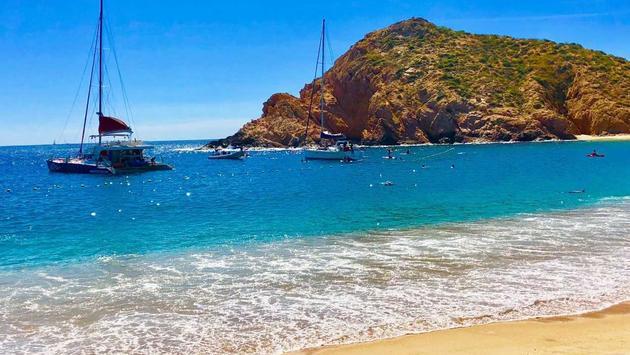Santa Maria Bay. (photo by Noreen Kompanik)
