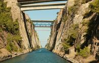Corinth Canal, Greece
