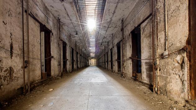 Cell Block 14, Eastern State Penitentiary, Philadelphia