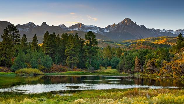 Colorado Autumn Scenery