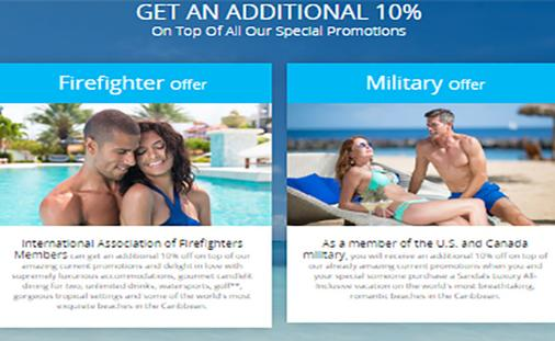 Year-round military, firefighter, police & fema 10% off discount
