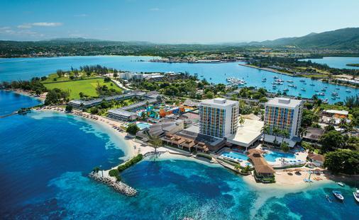 Aerial View of Sunscape Splash Jamaica