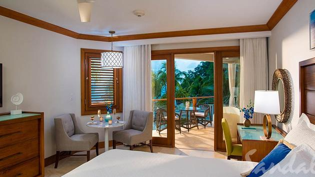 NOW FROM $349 The Caribbean Beachfront Grande Luxe Club Level Room