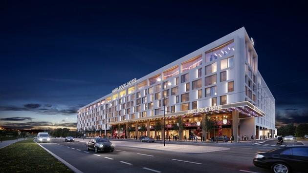 Rendering of Hard Rock Hotel Prague