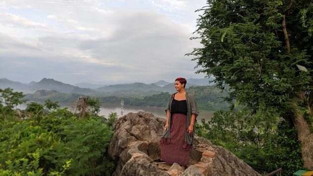 Luang Prabang, Phousi Mountain, Laos