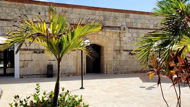 Excellence Punta Cana courtyard
