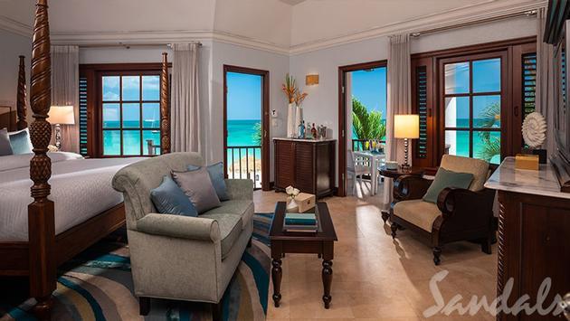 Caribbean Honeymoon Beachfront Butler Suite