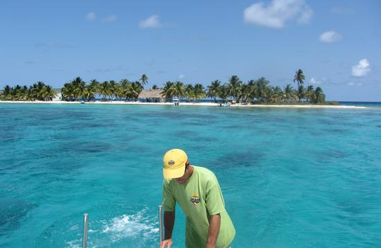 Laughing Bird Cay is one of seven key marine reserve zones within the Belize barrier reef. (Photo Courtesy of Brian Major)