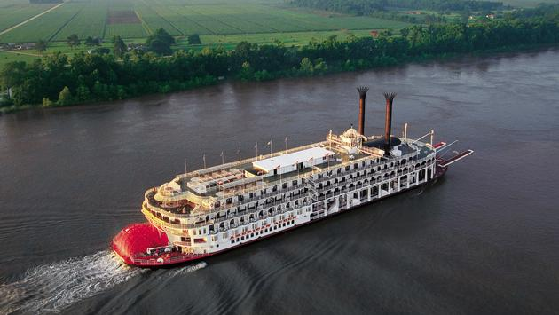 American Queen steamboating through America's heartland