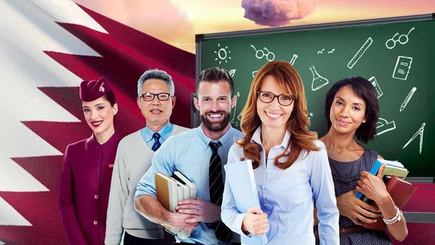 Qatar Airways Teacher Giveaways