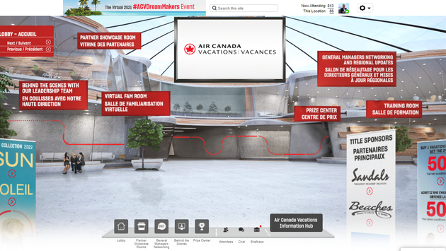 Air Canada Vacations DreamMakers Show