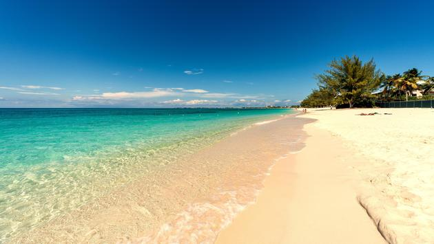 Seven miles beach on Grand Cayman