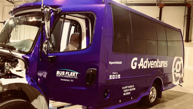 G Adventures new branded fleet.