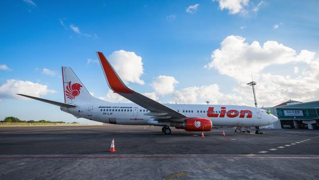 Lion Air Boeing 737 in Bali, Indonesia