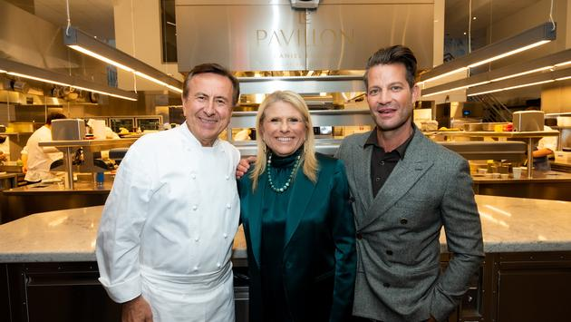 Acclaimed interior designer Nate Berkus, Celebrity Cruises President and CEO Lisa Lutoff-Perlo and Michelin-starred chef Daniel Boulud.