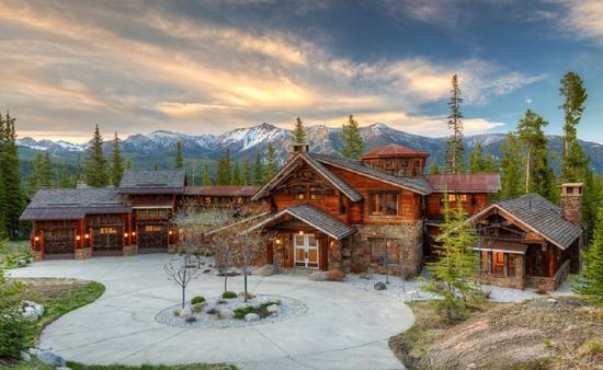 Bear Den Lodge, Big Sky, Montana