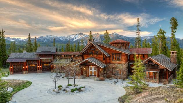 Bear Den Lodge, Big Sky, Montana